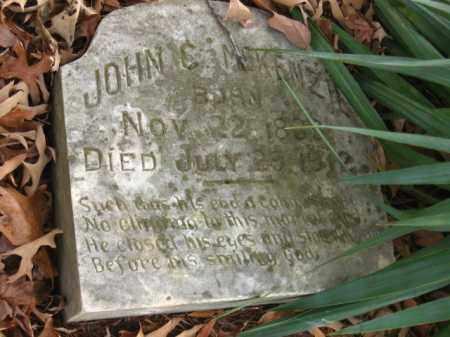 MCKENZIE, JOHN C - Pulaski County, Arkansas | JOHN C MCKENZIE - Arkansas Gravestone Photos