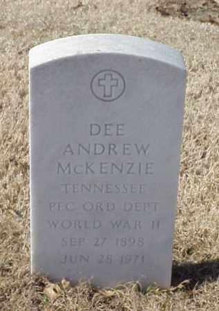 MCKENZIE (VETERAN WWII), DEE ANDREW - Pulaski County, Arkansas | DEE ANDREW MCKENZIE (VETERAN WWII) - Arkansas Gravestone Photos