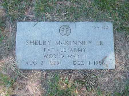 MCKINNEY, JR (VETERAN WWII), SHELBY - Pulaski County, Arkansas | SHELBY MCKINNEY, JR (VETERAN WWII) - Arkansas Gravestone Photos