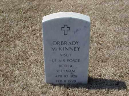 MCKINNEY (VETERAN 2 WARS), ORBRADY - Pulaski County, Arkansas | ORBRADY MCKINNEY (VETERAN 2 WARS) - Arkansas Gravestone Photos