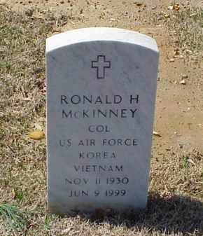 MCKINNEY (VETERAN 2 WARS), RONALD H - Pulaski County, Arkansas | RONALD H MCKINNEY (VETERAN 2 WARS) - Arkansas Gravestone Photos