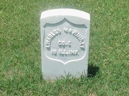 MCKINNEY (VETERAN UNION), CHARLES - Pulaski County, Arkansas | CHARLES MCKINNEY (VETERAN UNION) - Arkansas Gravestone Photos