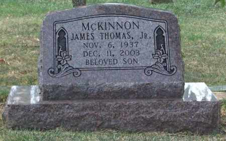 MCKINNON, JR., JAMES THOMAS - Pulaski County, Arkansas | JAMES THOMAS MCKINNON, JR. - Arkansas Gravestone Photos