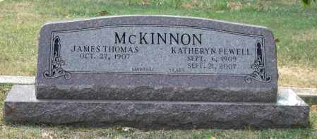 MCKINNON, JAMES THOMAS - Pulaski County, Arkansas | JAMES THOMAS MCKINNON - Arkansas Gravestone Photos