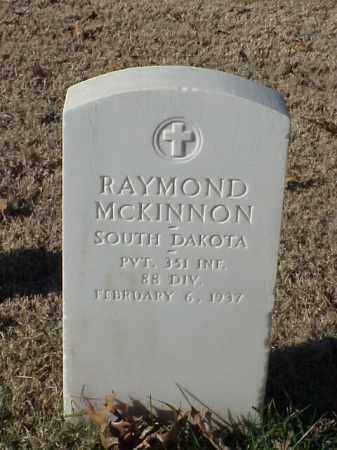 MCKINNON (VETERAN WWI), RAYMOND - Pulaski County, Arkansas | RAYMOND MCKINNON (VETERAN WWI) - Arkansas Gravestone Photos