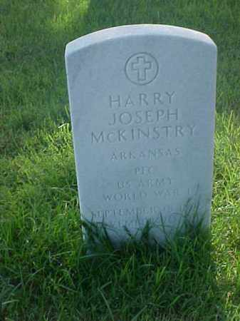 MCKINSTRY (VETERAN WWI), HARRY JOSEPH - Pulaski County, Arkansas | HARRY JOSEPH MCKINSTRY (VETERAN WWI) - Arkansas Gravestone Photos