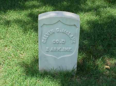 MCLANE (VETERAN UNION), CALVIN G - Pulaski County, Arkansas | CALVIN G MCLANE (VETERAN UNION) - Arkansas Gravestone Photos