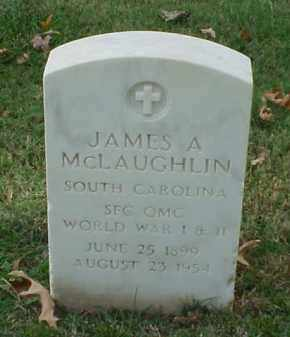 MCLAUGHLIN (VETERAN 2 WARS), JAMES A - Pulaski County, Arkansas | JAMES A MCLAUGHLIN (VETERAN 2 WARS) - Arkansas Gravestone Photos