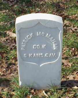 MCMAHAN (VETERAN UNION), PATRICK - Pulaski County, Arkansas | PATRICK MCMAHAN (VETERAN UNION) - Arkansas Gravestone Photos