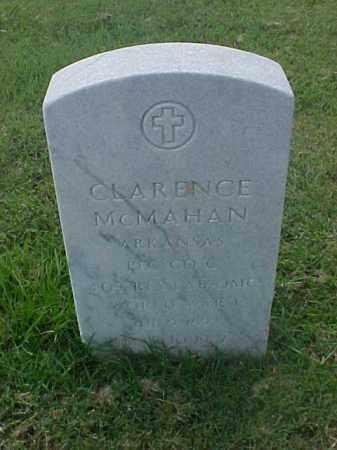 MCMAHAN (VETERAN WWI), CLARENCE - Pulaski County, Arkansas | CLARENCE MCMAHAN (VETERAN WWI) - Arkansas Gravestone Photos