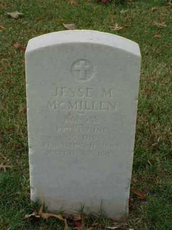 MCMILLEN (VETERAN WWI), JESSE M - Pulaski County, Arkansas | JESSE M MCMILLEN (VETERAN WWI) - Arkansas Gravestone Photos