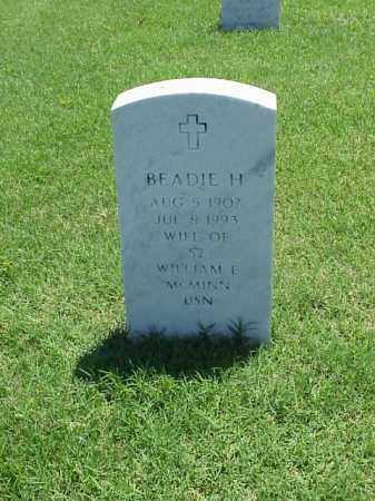MCMINN, BEADIE H. - Pulaski County, Arkansas | BEADIE H. MCMINN - Arkansas Gravestone Photos