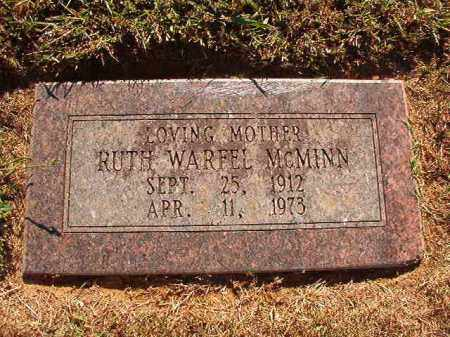 WARFEL MCMINN, RUTH - Pulaski County, Arkansas | RUTH WARFEL MCMINN - Arkansas Gravestone Photos