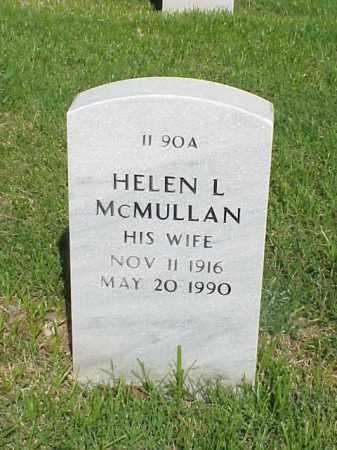 MCMULLAN, HELEN L - Pulaski County, Arkansas | HELEN L MCMULLAN - Arkansas Gravestone Photos