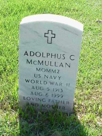 MCMULLAN (VETERAN WWII), ADOLPHUS C - Pulaski County, Arkansas | ADOLPHUS C MCMULLAN (VETERAN WWII) - Arkansas Gravestone Photos