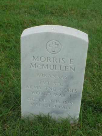 MCMULLEN (VETERAN WWI), MORRIS E - Pulaski County, Arkansas | MORRIS E MCMULLEN (VETERAN WWI) - Arkansas Gravestone Photos