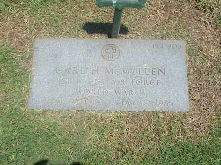 MCMULLEN (VETERAN WWII), CARL H - Pulaski County, Arkansas | CARL H MCMULLEN (VETERAN WWII) - Arkansas Gravestone Photos