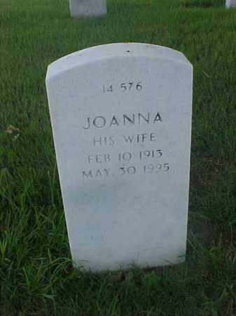 MCMURRAY, JOANNA - Pulaski County, Arkansas | JOANNA MCMURRAY - Arkansas Gravestone Photos