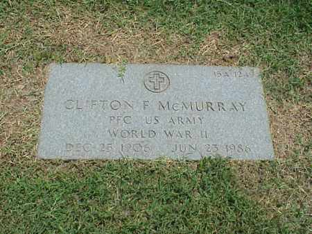 MCMURRAY (VETERAN WWII), CLIFTON F - Pulaski County, Arkansas | CLIFTON F MCMURRAY (VETERAN WWII) - Arkansas Gravestone Photos