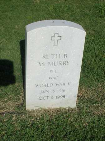 MCMURRY (VETERAN WWII), RUTH B - Pulaski County, Arkansas | RUTH B MCMURRY (VETERAN WWII) - Arkansas Gravestone Photos