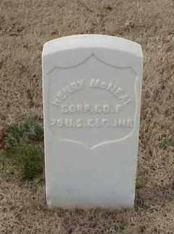 MCNEAL (VETERAN UNION), HENRY - Pulaski County, Arkansas | HENRY MCNEAL (VETERAN UNION) - Arkansas Gravestone Photos