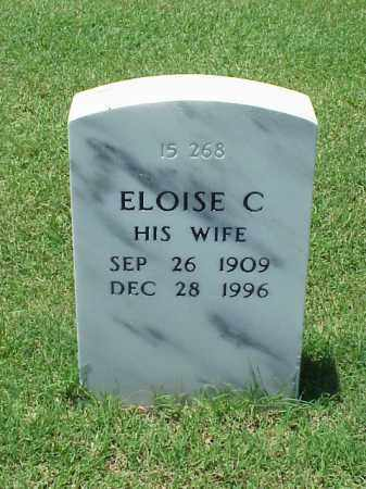 MCNEEL, ELOISE C - Pulaski County, Arkansas | ELOISE C MCNEEL - Arkansas Gravestone Photos