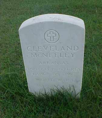 MCNEELEY (VETERAN WWI), CLEVELAND - Pulaski County, Arkansas | CLEVELAND MCNEELEY (VETERAN WWI) - Arkansas Gravestone Photos