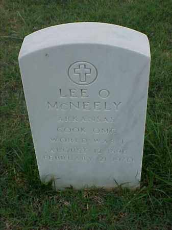 MCNEELY (VETERAN WWI), LEE O - Pulaski County, Arkansas | LEE O MCNEELY (VETERAN WWI) - Arkansas Gravestone Photos