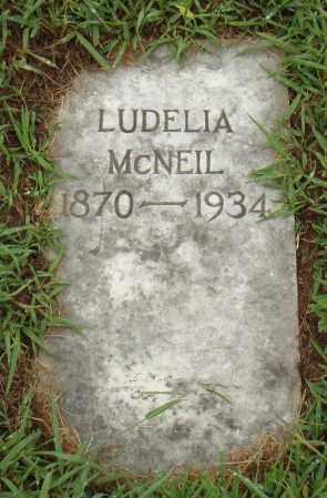 MCNEIL, LUDELIA - Pulaski County, Arkansas | LUDELIA MCNEIL - Arkansas Gravestone Photos