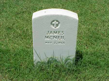 MCNEIL, JAMES - Pulaski County, Arkansas | JAMES MCNEIL - Arkansas Gravestone Photos