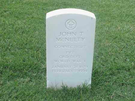 MCNULTY (VETERAN WWI), JOHN T - Pulaski County, Arkansas | JOHN T MCNULTY (VETERAN WWI) - Arkansas Gravestone Photos