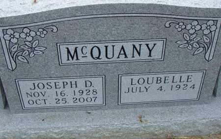 MCQUANY, JOSEPH D . - Pulaski County, Arkansas | JOSEPH D . MCQUANY - Arkansas Gravestone Photos