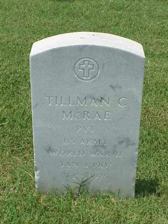MCRAE (VETERAN WWII), TILLMAN CLAY - Pulaski County, Arkansas | TILLMAN CLAY MCRAE (VETERAN WWII) - Arkansas Gravestone Photos