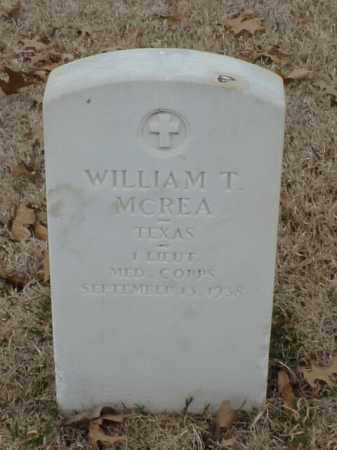 MCREA (VETERAN WWI), WILLIAM T - Pulaski County, Arkansas | WILLIAM T MCREA (VETERAN WWI) - Arkansas Gravestone Photos