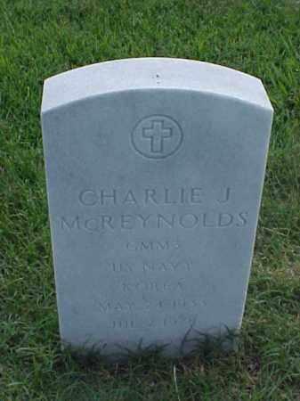 MCREYNOLDS (VETERAN KOR), CHARLIE J - Pulaski County, Arkansas | CHARLIE J MCREYNOLDS (VETERAN KOR) - Arkansas Gravestone Photos