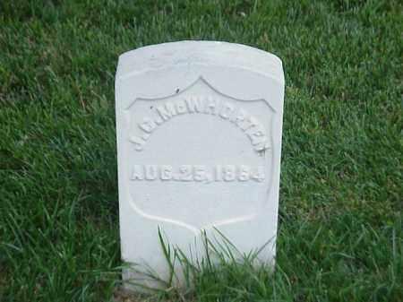 MCWHORTEN (VETERAN UNION), J C - Pulaski County, Arkansas | J C MCWHORTEN (VETERAN UNION) - Arkansas Gravestone Photos