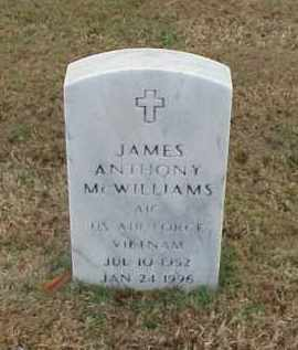 MCWILLIAMS (VETERAN VIET), JAMES ANTHONY - Pulaski County, Arkansas | JAMES ANTHONY MCWILLIAMS (VETERAN VIET) - Arkansas Gravestone Photos