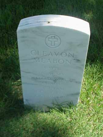 MEABON (VETERAN 3 WARS), CLEAVON - Pulaski County, Arkansas | CLEAVON MEABON (VETERAN 3 WARS) - Arkansas Gravestone Photos