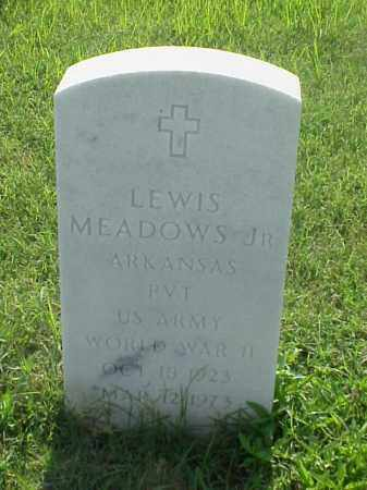MEADOWS, JR (VETERAN WWII), LEWIS - Pulaski County, Arkansas | LEWIS MEADOWS, JR (VETERAN WWII) - Arkansas Gravestone Photos