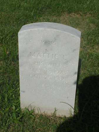 MEADOWS, MATTIE L - Pulaski County, Arkansas | MATTIE L MEADOWS - Arkansas Gravestone Photos