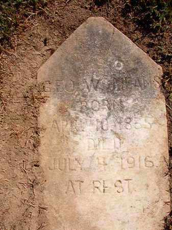 MEANS, GEORGE W. - Pulaski County, Arkansas | GEORGE W. MEANS - Arkansas Gravestone Photos