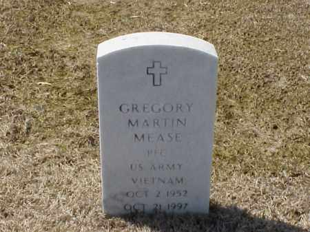 MEASE (VETERAN VIET), GREGORY MARTIN - Pulaski County, Arkansas | GREGORY MARTIN MEASE (VETERAN VIET) - Arkansas Gravestone Photos