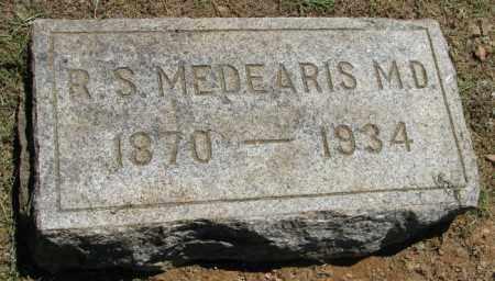 MEDEARIS, M.D., ROBERT SUMMERFIELD - Pulaski County, Arkansas | ROBERT SUMMERFIELD MEDEARIS, M.D. - Arkansas Gravestone Photos