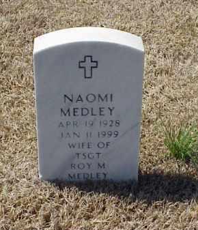 MEDLEY, NAOMI - Pulaski County, Arkansas   NAOMI MEDLEY - Arkansas Gravestone Photos
