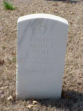 MEIER (VETERAN WWI), ROBERT ARTHUR - Pulaski County, Arkansas | ROBERT ARTHUR MEIER (VETERAN WWI) - Arkansas Gravestone Photos