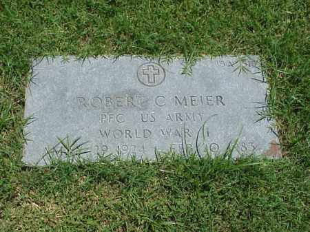 MEIER (VETERAN WWII), ROBERT C - Pulaski County, Arkansas | ROBERT C MEIER (VETERAN WWII) - Arkansas Gravestone Photos