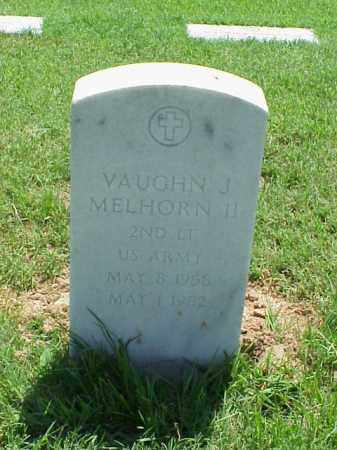 MELHORN, II (VETERAN), VAUGHN J - Pulaski County, Arkansas | VAUGHN J MELHORN, II (VETERAN) - Arkansas Gravestone Photos