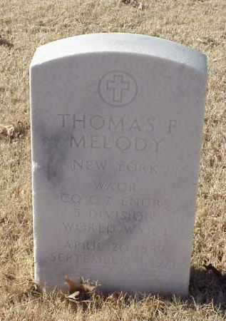 MELODY (VETERAN WWI), THOMAS F - Pulaski County, Arkansas | THOMAS F MELODY (VETERAN WWI) - Arkansas Gravestone Photos