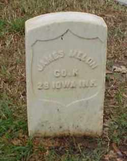 MELON (VETERAN UNION), JAMES - Pulaski County, Arkansas | JAMES MELON (VETERAN UNION) - Arkansas Gravestone Photos