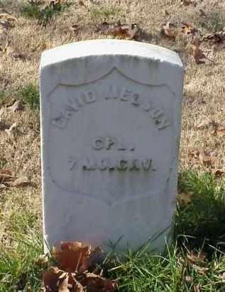 MELSON (VETERAN UNION), DAVID - Pulaski County, Arkansas | DAVID MELSON (VETERAN UNION) - Arkansas Gravestone Photos